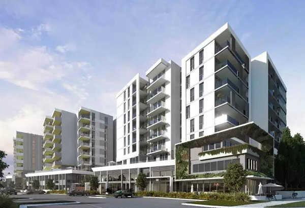墨尔本超低密度公寓-THE GROVE