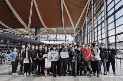 时隔7个月,首批中国游客抵达曼谷