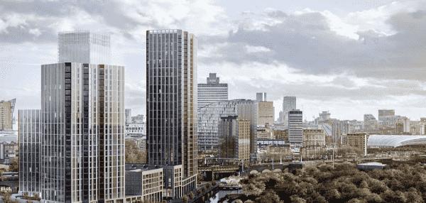 曼彻斯特大型住宅项目Victoria Riverside